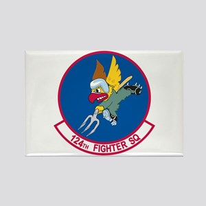 124th Fighter Squadron Rectangle Magnet (10 pack)