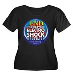 End Electro-Shock Brutality Women's Plus Size Scoo