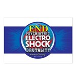 End Electro-Shock Brutality Postcards (Package of