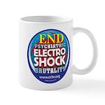 End Electro-Shock Brutality Mug