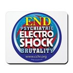 End Electro-Shock Brutality Mousepad