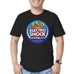 End Electro-Shock Brutality Men's Fitted T-Shirt (