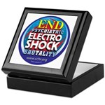 End Electro-Shock Brutality Keepsake Box