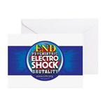 End Electro-Shock Brutality Greeting Cards (Pk of