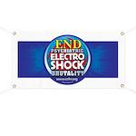 End Electro-Shock Brutality Banner