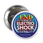 "End Electro-Shock Brutality 2.25"" Button (100"
