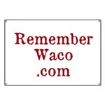 Rememberwaco.com Large Banner (42 X 28 In.)
