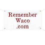 Rememberwaco.com Large Banner (42 X 28 In.)