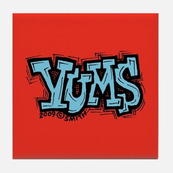 Yums Tile Coaster