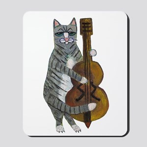 Cat and Cello Mousepad