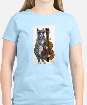 Cat and Cello Women's Light T-Shirt