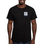 Boxer Men's Fitted T-Shirt (dark)