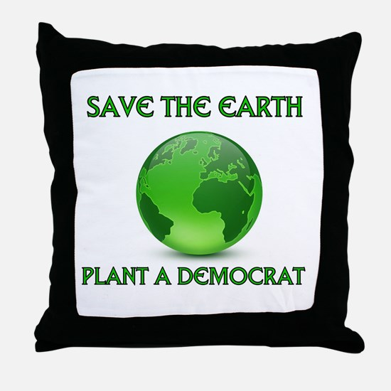 CLEAN UP AMERICA Throw Pillow