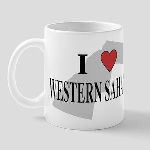I Love Western Sahara Mug