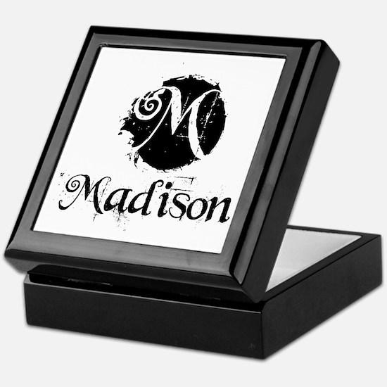 Madison Grunge Keepsake Box
