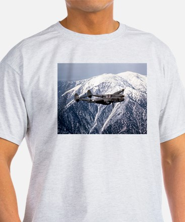 P-38 and the Mountain Ash Grey T-Shirt