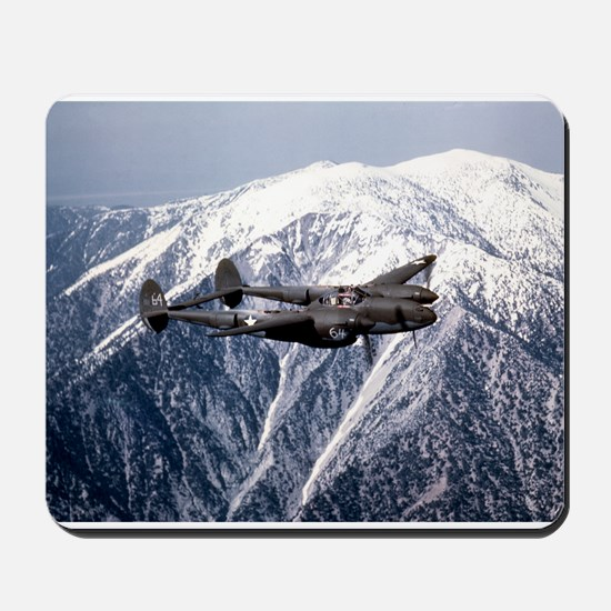 P-38 and the Mountain Mousepad