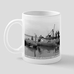 P-38 Crash Mug