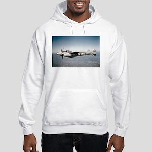 P-38 In Flight Hooded Sweatshirt