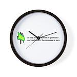 Key to Success Wall Clock