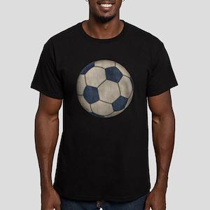Fabric Soccer Men's Fitted T-Shirt (dark)