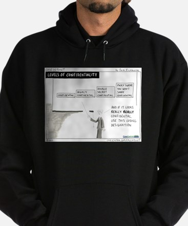 Levels of Confidentiality Hoodie (dark)