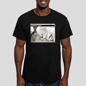 Pompeii Men's Fitted T-Shirt (dark)