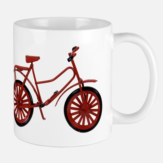 Red Bicycle Mug