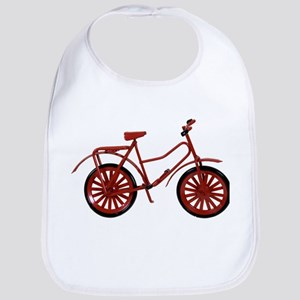 Red Bicycle Bib