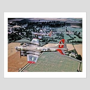 Beautiful B-17 Small Poster