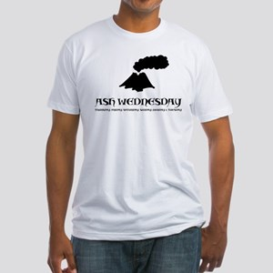 Iceland Volcano Fitted T-Shirt