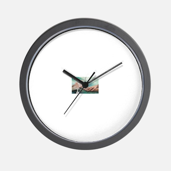 Clean hands Wall Clock