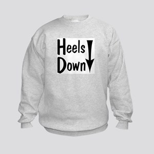 Heels Down! Arrow Kids Sweatshirt