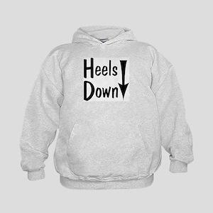 Heels Down! Arrow Kids Hoodie