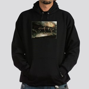 Woden today and ever Hoodie (dark)