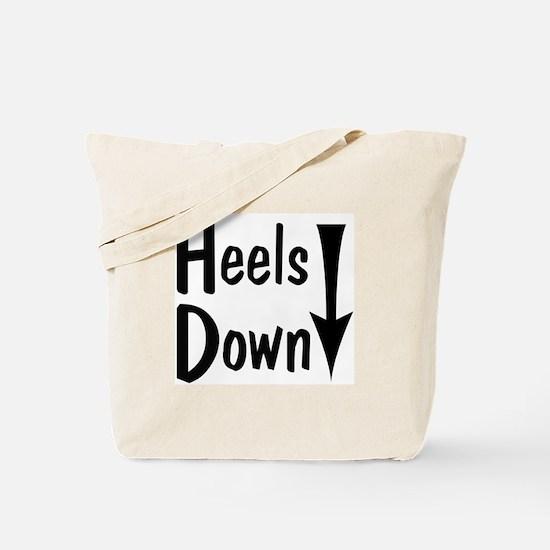 Heels Down! Arrow Tote Bag