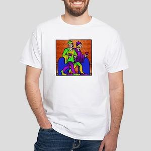 White Gemini T-Shirt