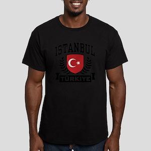 Istanbul Turkiye Men's Fitted T-Shirt (dark)