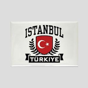 Istanbul Turkiye Rectangle Magnet