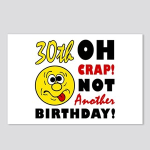30th birthday jokes postcards cafepress