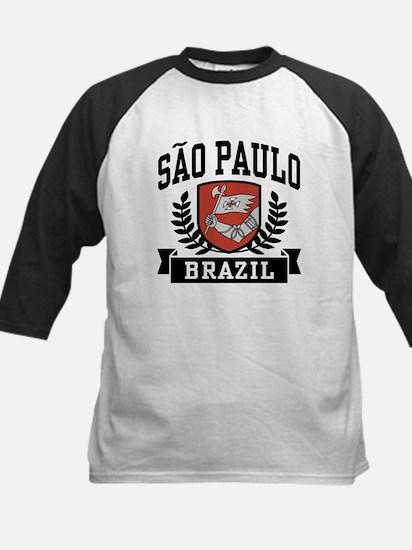 Sao Paulo Brazil Kids Baseball Jersey