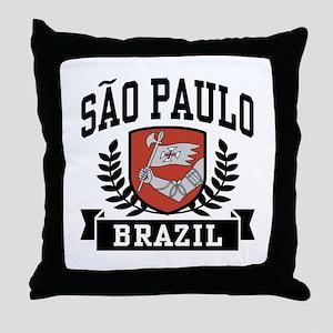 Sao Paulo Brazil Throw Pillow