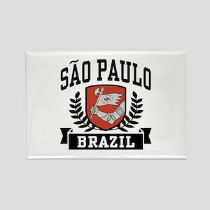 Sao Paulo Brazil Rectangle Magnet