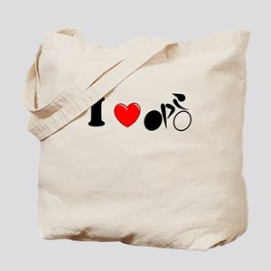 I (heart) Cycling Tote Bag