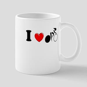 I (heart) Cycling Mug