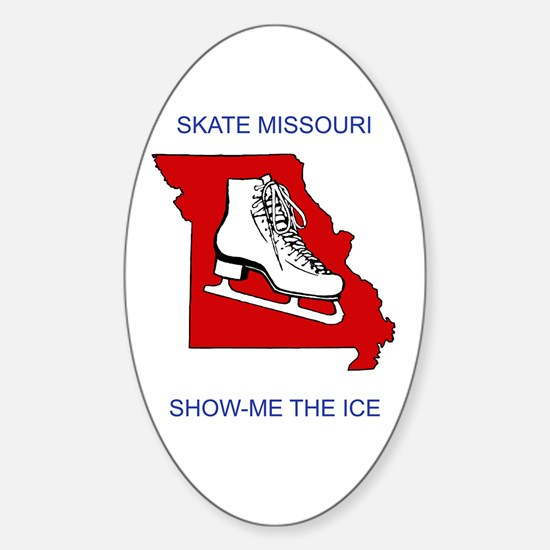 Missouri Skate Oval Decal