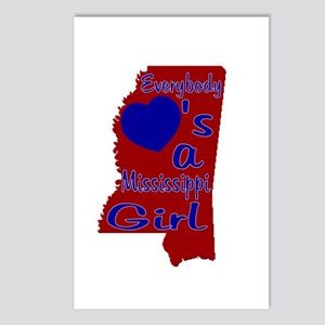 Everybody Loves a Mississippi Postcards (Package o