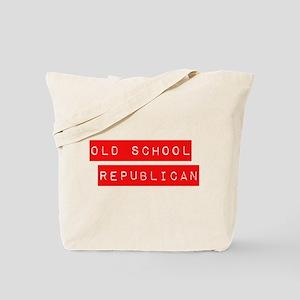 OLD SCHOOL REPUBLICAN Tote Bag