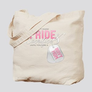 Pride & Sacrifice Navy Mom Tote Bag