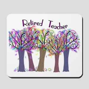 retired teacher Mousepad